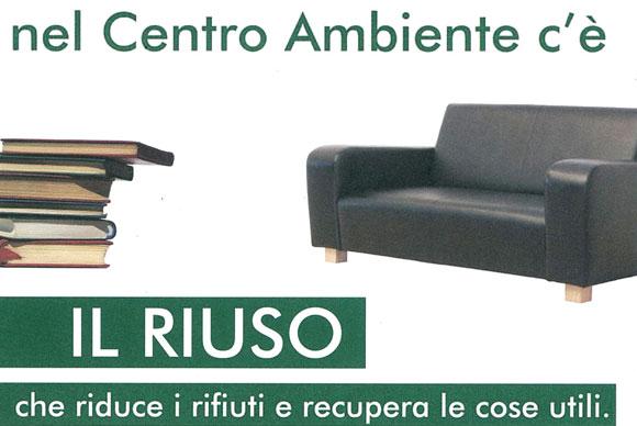 Centro del Riuso - Riduce i rifiuti e recupera le cose utili
